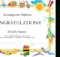 Kindergarten Diploma Certificate within Best Kindergarten Diploma Certificate Templates 10 Designs Free