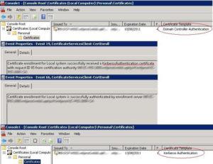 Ldap389 » Domain Controller Certificates: Kerberos In Domain Controller Certificate Template