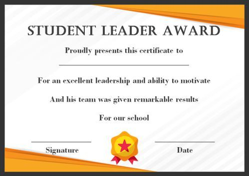Leadership Award Certificate Template (7) – Templates Pertaining To Quality Kindness Certificate Template 7 New Ideas Free