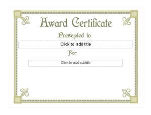Life Saving Award Certificate Template In 2020 | Awards throughout Life Saving Award Certificate Template