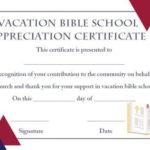 Lifeway Vbs Certificate Templates | Certificate Templates For Unique Vbs Attendance Certificate Template