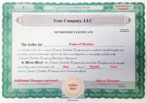 Llc Membership Certificate Template Member Staggering Ideas throughout Llc Membership Certificate Template