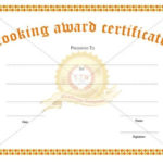 Looking For A Cooking Award Certificate Template For With Regard To Cooking Competition Certificate Templates