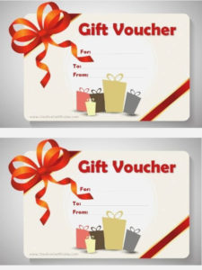 Magazine Subscription Gift Certificate Template | Christmas in Best Magazine Subscription Gift Certificate Template