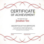 Make Your Own Certificate Of Achievement In Seconds Inside Certificate Of Accomplishment Template Free