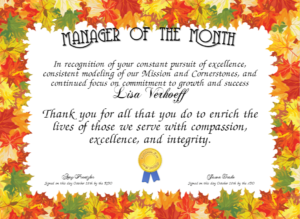 Manager Of The Month Certificate Template (1) – Templates with Manager Of The Month Certificate Template