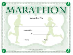 Marathon Award Certificate Template Download Printable Pdf throughout Marathon Certificate Templates