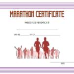 Marathon Participation Certificate Template Free 3 Pertaining To Marathon Certificate Template 7 Fun Run Designs