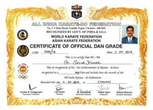 Martial Art Certificate Templates ~ Addictionary with Karate Certificate Template