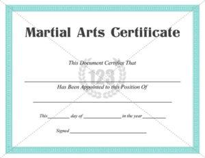 Martial Arts #Certificate #Templates | Art Certificate pertaining to New Karate Certificate Template