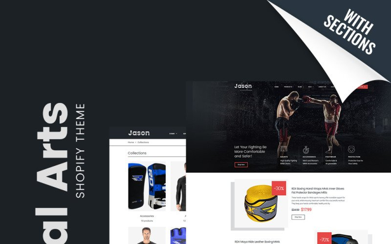 Martial Arts Responsive Shopify Theme with Fresh Free 24 Martial Arts Certificate Templates 2020