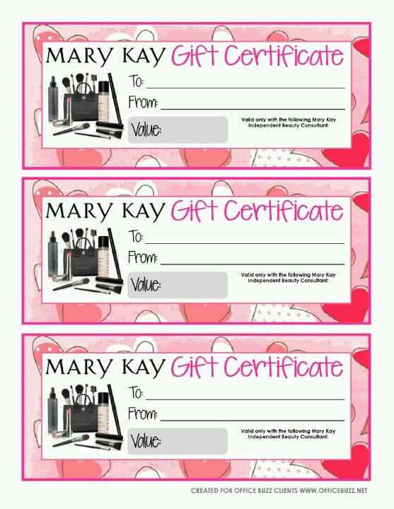 Mary Kay | Official Site | Mary Kay Gifts, Mary Kay Gift With Regard To New Mary Kay Gift Certificate Template