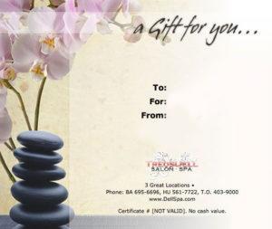Massage Certificate | Massage Gift Certificate, Massage Gift inside Spa Day Gift Certificate Template
