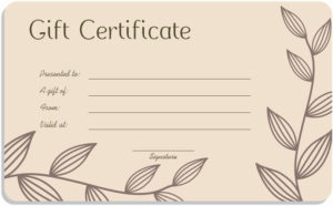 Massage Gift Certificate Template Free Download Best Of Gift throughout Massage Gift Certificate Template Free Download