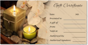 Massage Gift Certificate Templates | Gift Certificate Templates intended for Massage Gift Certificate Template Free Download