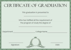 Masters Degree Certificate Template   Degree Certificate inside Best Masters Degree Certificate Template