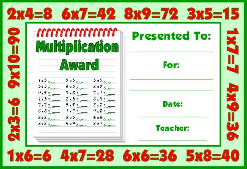 Math Awards Certificates inside Math Certificate Template 7 Excellence Award