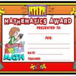 Math Awards Certificates | Teaching Math, School Award Throughout Fresh 9 Math Achievement Certificate Template Ideas