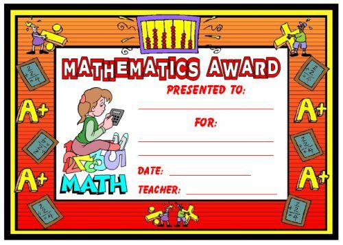 Math Awards Certificates | Teaching Math, School Award within New Math Award Certificate Templates