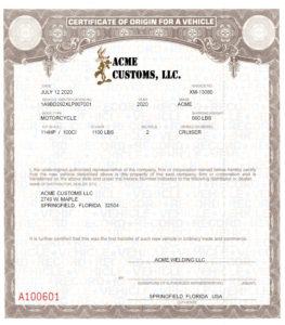 Mco Store Mcos Mcos Certificates Of Origin for Certificate Of Origin For A Vehicle Template