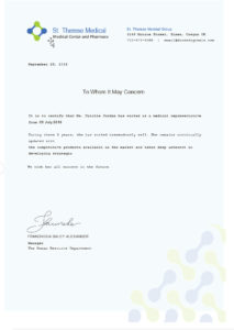 Medical Experience Certificate Template – Free Templates for Certificate Of Experience Template
