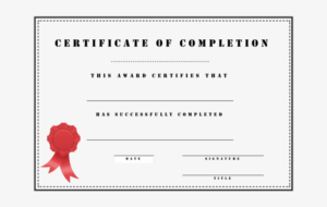 Medium Size Of Certificate Of Completion Template Free regarding Free Training Completion Certificate Templates