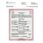 Mexican Marriage Certificate Translation Template (1 pertaining to Mexican Marriage Certificate Translation Template