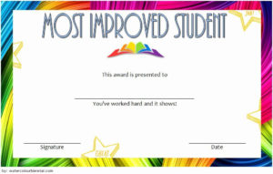 Most Improved Certificate Template Beautiful Most Improved in Free Printable Best Wife Certificate 7 Designs