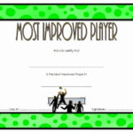 Most Improved Certificate Template Elegant Most Improved With Regard To New Most Improved Player Certificate Template