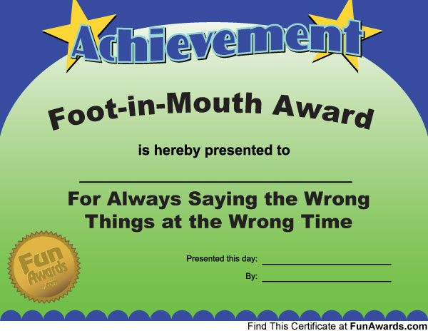 Most Likely To Awards - Funny Award Ideas | Funny Awards pertaining to Most Likely To Certificate Template 9 Ideas