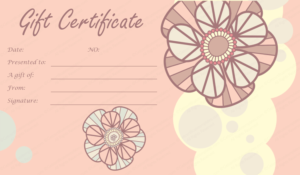 Mother'S And Father'S Day Gift Certificates (22+ Editable intended for Mothers Day Gift Certificate Template