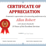 Ms Word Certificate Of Appreciation | Office Templates Online Regarding New Certificate Of Recognition Template Word
