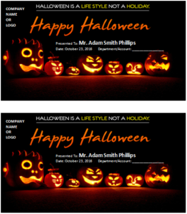 Ms Word Halloween Gift Certificate Templates | Word & Excel with regard to Fresh Halloween Gift Certificate Template Free