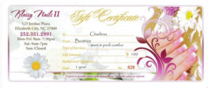 Nail Salon Gift Certificates At Klassy Nails Ll In Elizabeth inside Nail Salon Gift Certificate