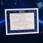 Name A Star Instant Certificate – Buy And Name A Star | Name A Star With Unique Star Naming Certificate Template