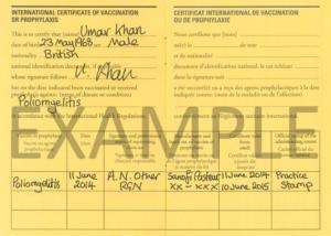 Nathnac – Polio Vaccination Certificate throughout Best Certificate Of Vaccination Template