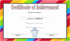 Netball Certificate Of Achievement Free Printable 5 In 2020 in Netball Certificate Templates Free 17 Concepts