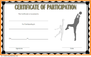 Netball Participation Certificate Template Free 1 In 2020 with regard to Netball Certificate Templates Free 17 Concepts