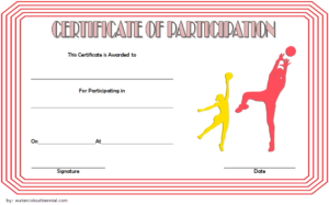 Netball Participation Certificate Template Free 2 Di 2020 for Quality Netball Participation Certificate Templates