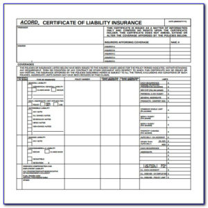 New Acord Certificate Of Insurance Form | Vincegray2014 inside Quality Acord Insurance Certificate Template