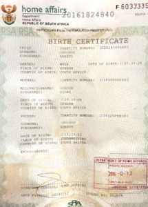 New Full Birth Certificates Issueddha » Move Up – Uk inside South African Birth Certificate Template