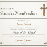 New Member Certificate Template (2) – Templates Example With Fresh New Member Certificate Template