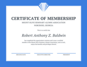 New Member Certificate Template 6 – Best Templates Ideas For throughout Fresh New Member Certificate Template