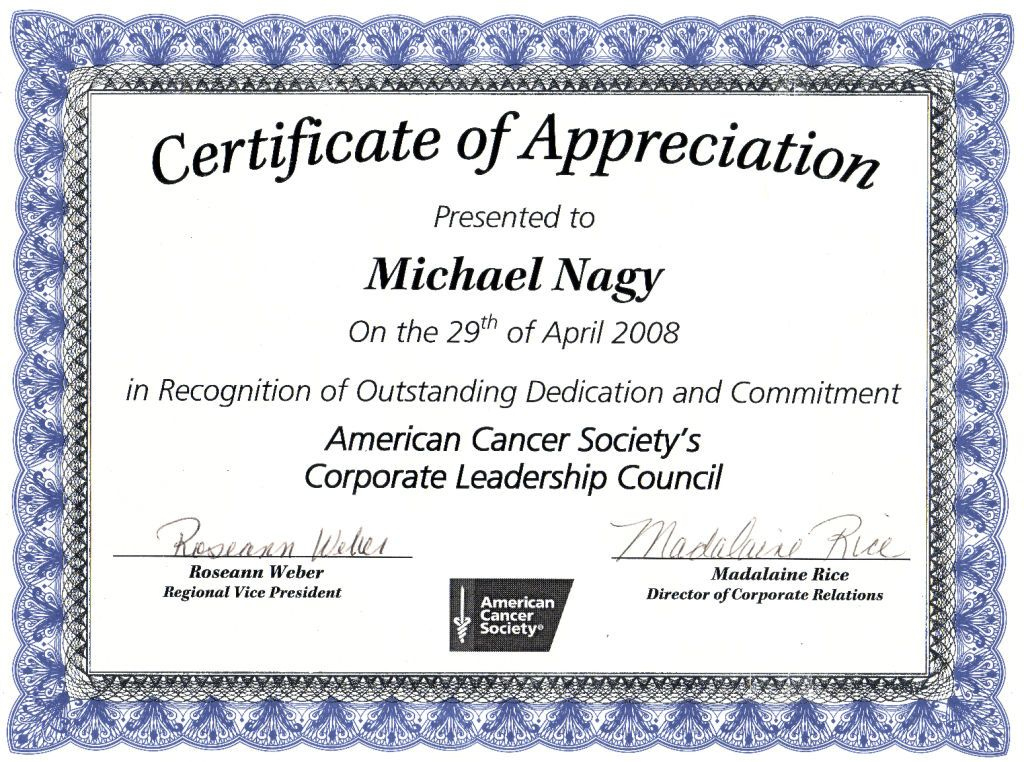 Nice Editable Certificate Of Appreciation Template Example intended for New Thanks Certificate Template