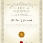 Pages Certificate Templates (4) | Professional Templates with regard to Best Pages Certificate Templates