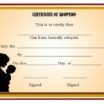 Pin On Adoption Certificate Template Regarding Child Adoption Certificate Template