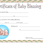 Pin On Baby Dedication Certificate Printable Free Regarding Blessing Certificate Template Free 7 New Concepts