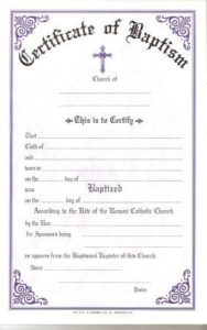 Pin On Baptism Certificate Inside Roman Catholic Baptism Certificate Template