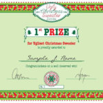 Pin On Bday Calendar regarding Unique Free Ugly Christmas Sweater Certificate Template