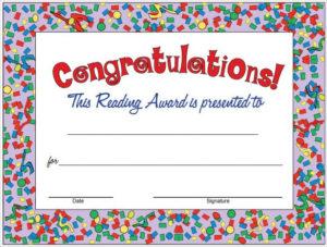 Pin On Certificate Design in Congratulations Certificate Template